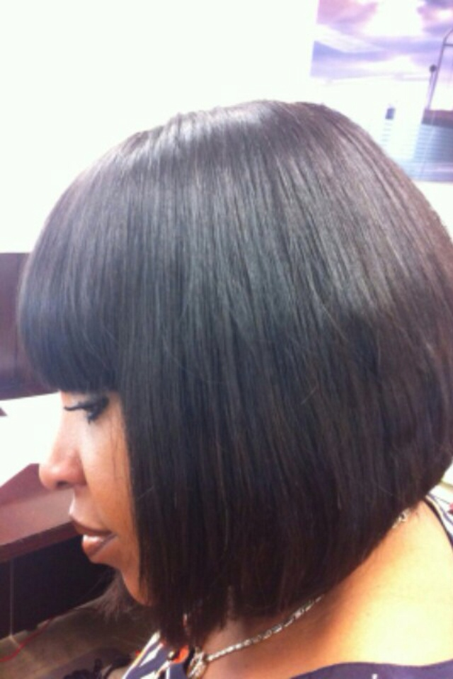 Short Style Full Head Weave Clients Full Head Weave