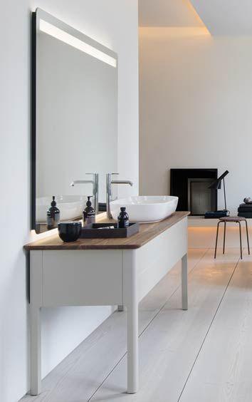 meuble vasque Luv de Duravit, au design scandinave | meuble sdb in ...