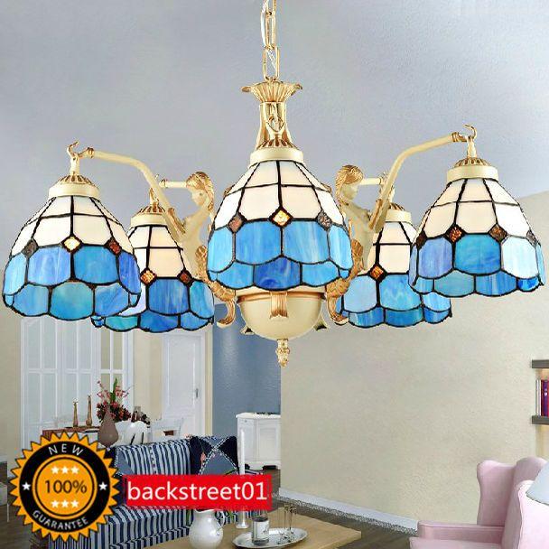 New Mediterranean style Ceiling Light Chandelier Pendant Light Lighting 5 lights #Modern