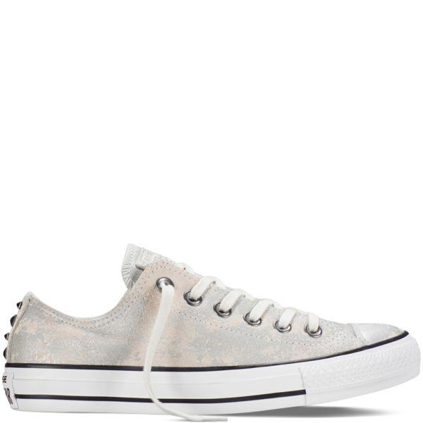 Converse CT AS Chambray Low Unisex Sneaker Schuhe Turnschuhe Blau