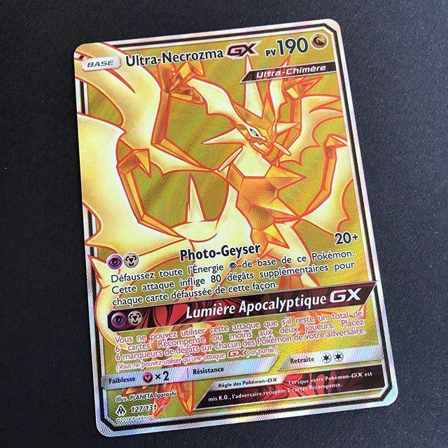 Ultra Necrozma Gx De Lumiere Interdite La Plus Belle De La Serie Pokemon Cartespokemon Soleiletlune Lumierein Carte Pokemon Imprimer Carte Pokemon Pokemon
