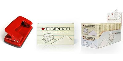 Heart Hole Punch : Punch heart shaped holes in your paper.