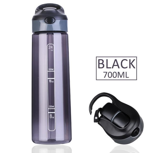 Sports Water Bottle With Straw