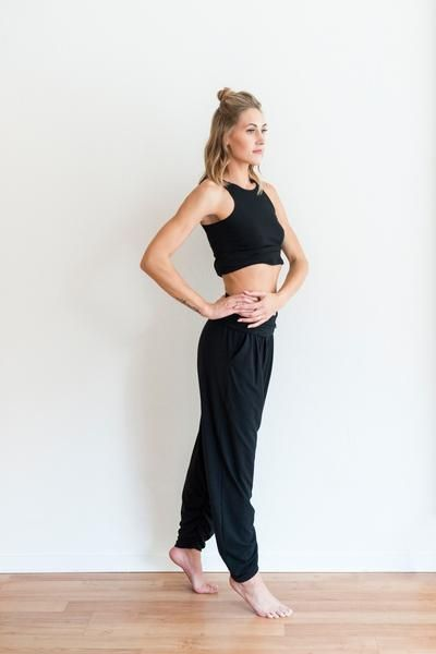 BLACK SUNDAY PANT from ethical fashion brand FREE LABEL
