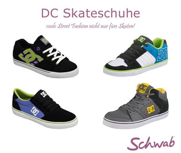 Die coolen #DC #Skateschuhe sind nicht nur fürs Boarden geeignet. Mit den Sneakern entsteht ein angesagtes Streetwear Outfit.
