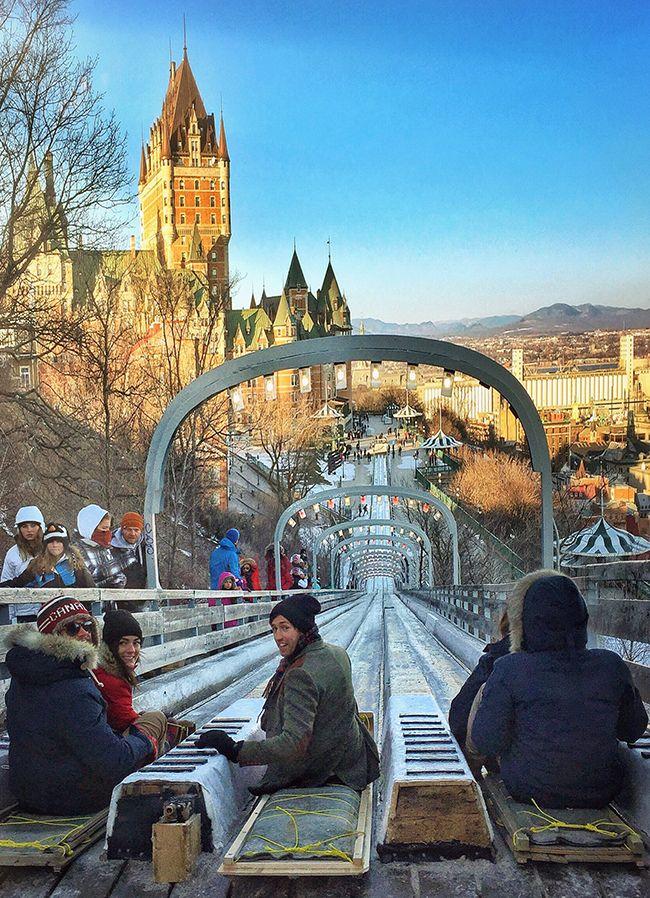 "Quebec City ""Winter Wonderland"" by Sarah Vickers on www.classygirlswearpearls.com #quebecregion"