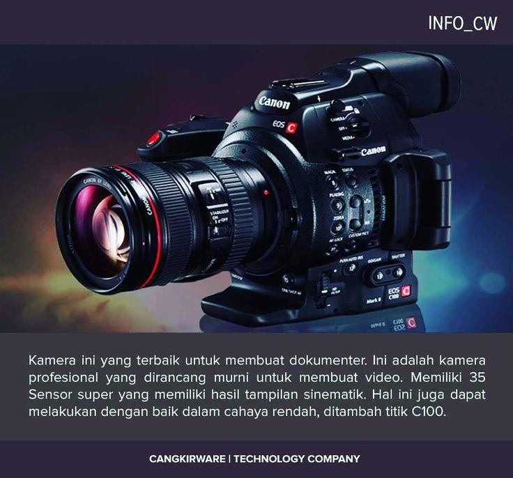Canon EOS C100 Mark II Cinema EOS Kamera dengan Dual Pixel CMOS AF adalah versi Canon terbaru dari C100 dirancang untuk videographers acara documentarians dan pembuat film independen. Menggabungkan fungsi autofocus terus menerus kompatibel dengan semua lensa autofocus Canon menggunakan teknologi dual Pixel CMOS AF. Fitur baru ini memberikan lebih cepat dan lebih akurat autofocus untuk membantu pengguna ketika beroperasi dengan kru kecil.  Mark II juga menambahkan berbagai fitur upgrade…