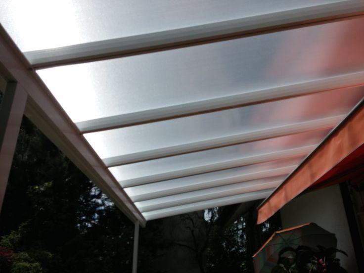 Terrassendach & Carport - Bausatz Typ B - 4200x3000mm - WEISS