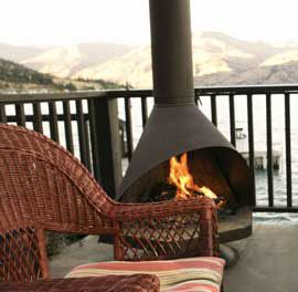 Best 25+ Outdoor wood burning fireplace ideas on Pinterest ...