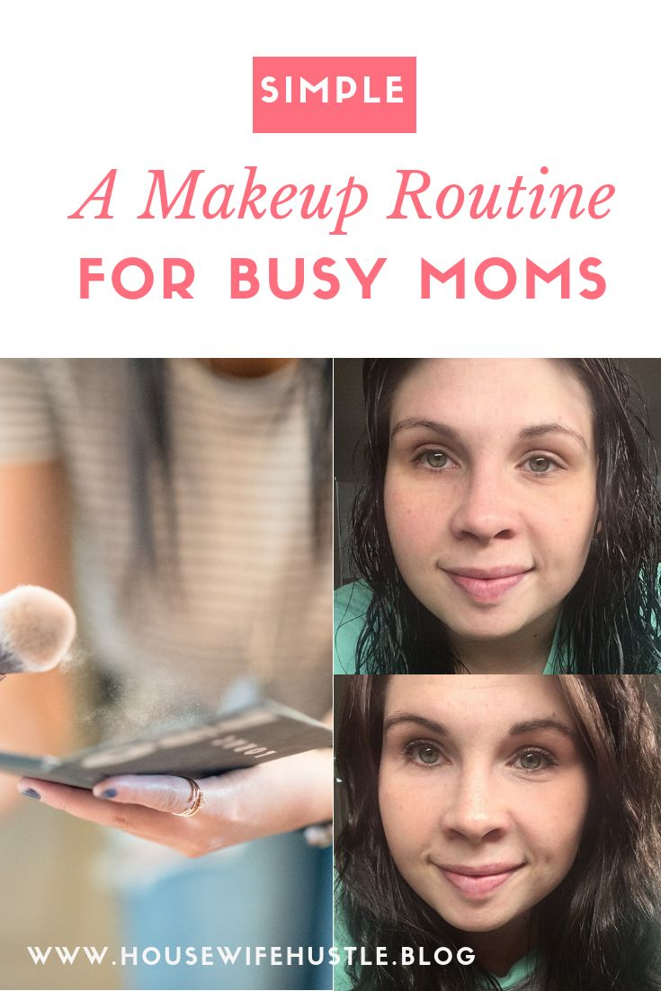 A quick and simple makeup routine for anyone in a rush. I use drugstore and Ulta products. #makeup #makeuptips #busymom #makeuproutine