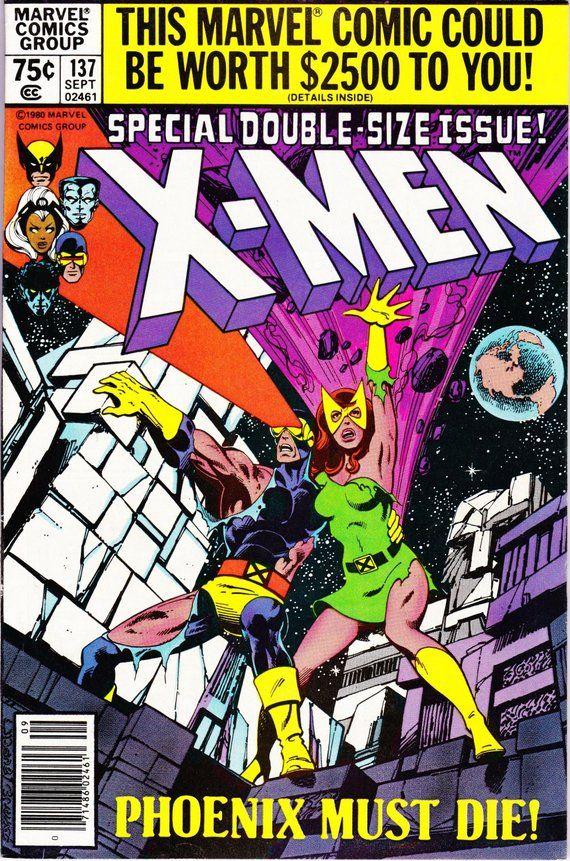 Uncanny X Men 137 1963 1st Series September 1980 Marvel Comics Grade Vf Xmen Comics Comic Book Covers X Men
