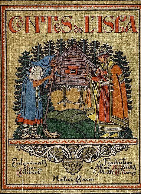 Book cover by Ivan Bilibin