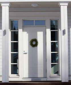 ovi  sisääntulo- ikkunat!