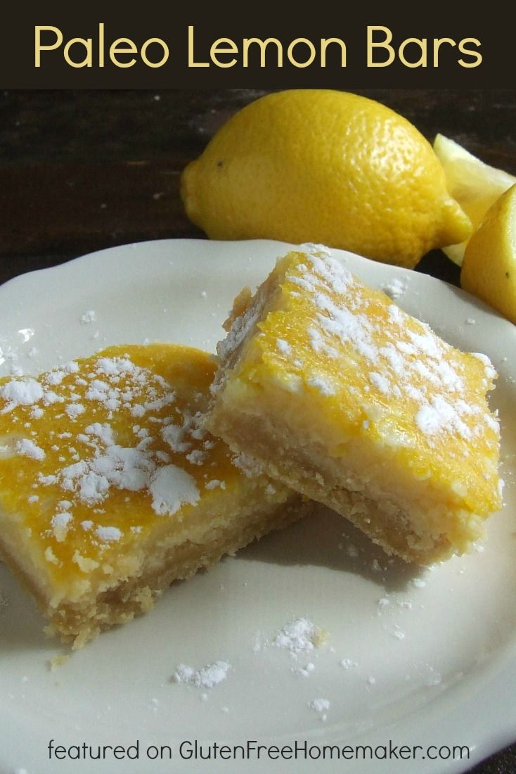 Every time I make these Paleo Lemon Bars, I remember just how much I love them. They're always the star of the show and disappear within minutes.