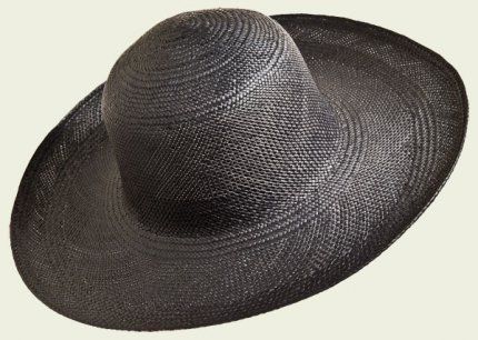Panama Cloche   #hat #hats #womanhats #nero #panama #cloche #clochehat #accessories #black