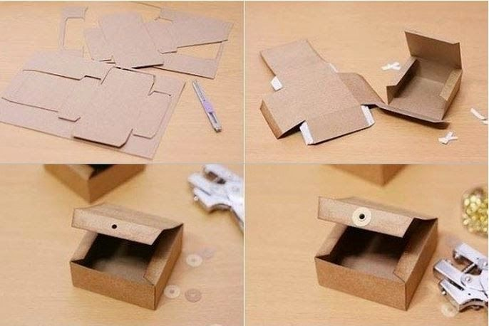 DIY Gift Box from Cardboard