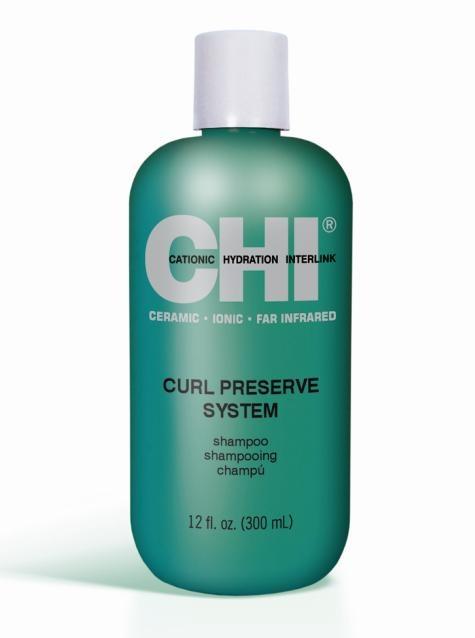 Wil je mooie kroesvrije krullen? Was je haar dan met CHI Curl Preserve System Shampoo! #CHI