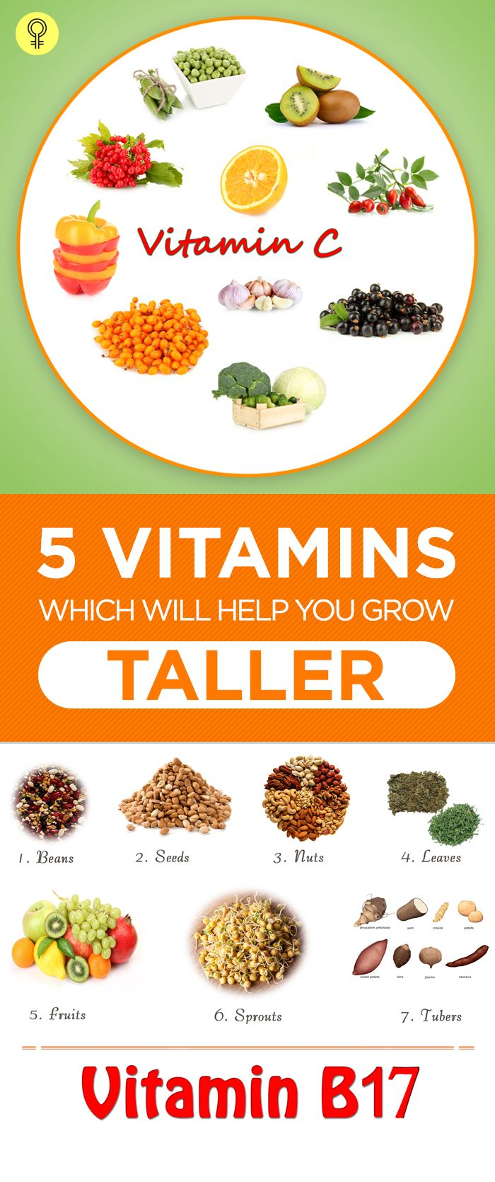 5 Essential Vitamins Which Will Help You Grow Taller