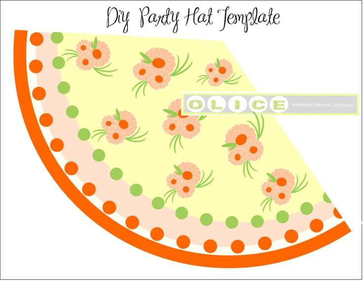 25+ unique DIY party hat template ideas on Pinterest DIY - party hat template