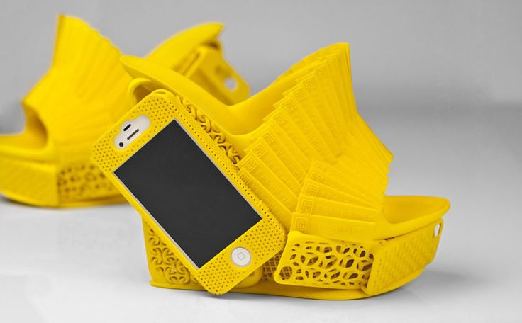 3D Printed Shoes Feature iPhone Holster
