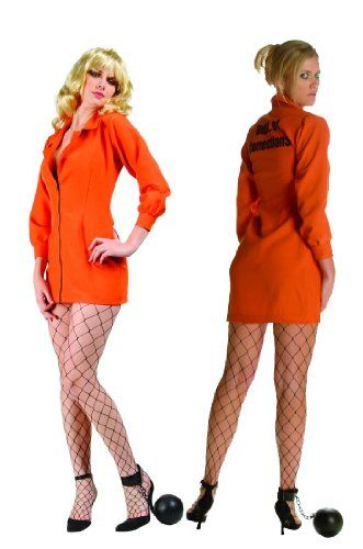 Get Your Orange is the New Black Halloween Costumes Right Here! All kinds of orange jumpsuits and jail outfits for Halloween.
