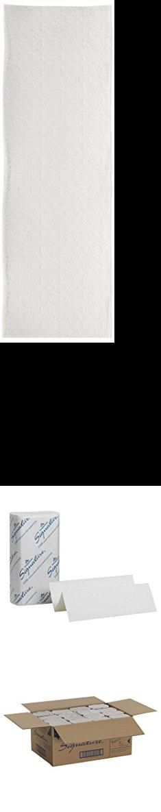 "Georgia Pacific. Georgia-Pacific 21000 Signature 2-Ply Premium Multifold Paper Towel, White, (WxL) 9.2"" x 9.4"" (Case of 16 Packs, 125 Towels per Pack).  #georgia #pacific #georgiapacific"