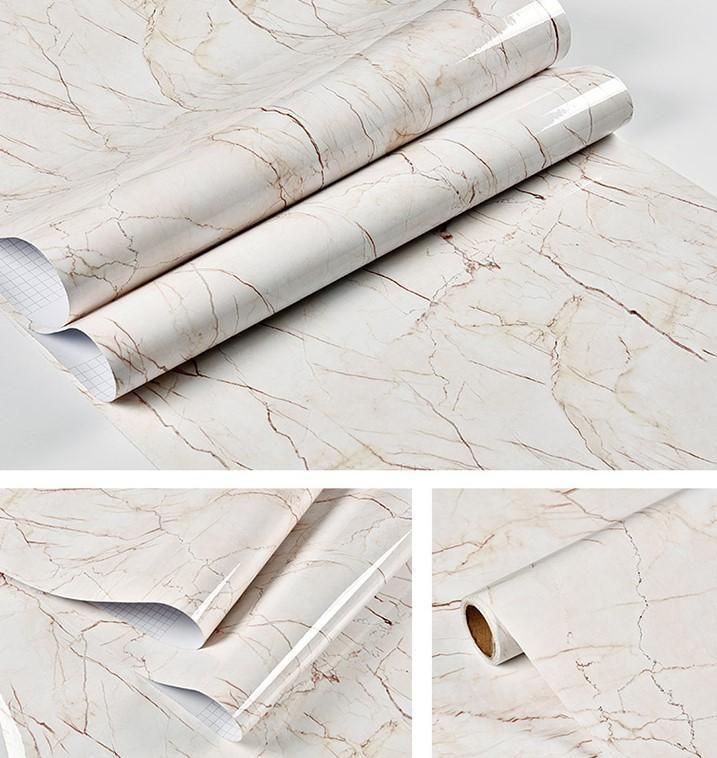 Marble Contact Paper Self Adhesive Decorative Granite Vinyl Film Peel Stick Wallpaper For Kitchen Countertop C Marble Sticker Marble Wallpaper Wallpaper Edge