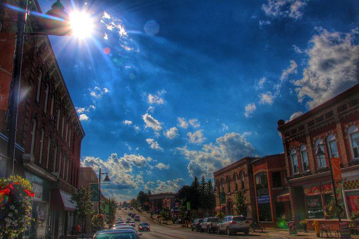 Uxbridge Ontario ~ Canada ~ Downtown ~ Brock St ~ Heritage