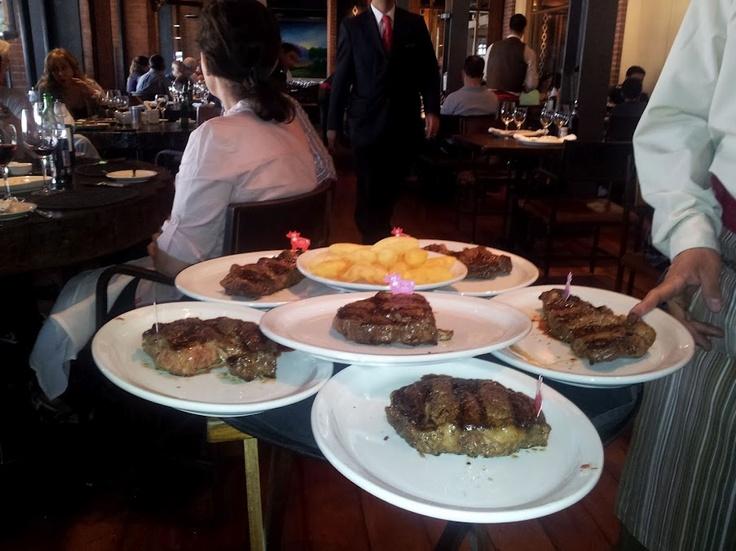 Argentine Steak at Cabana Las Lilas, BA