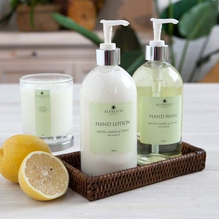 Alfresco Emporium Hand Lotion Meyer Lemon Thyme