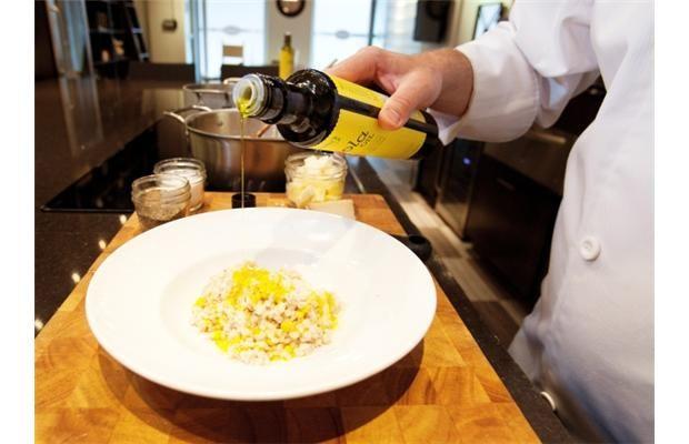 Brad Smoliak uses barley in place of arborio rice in risotto | Liane Faulder