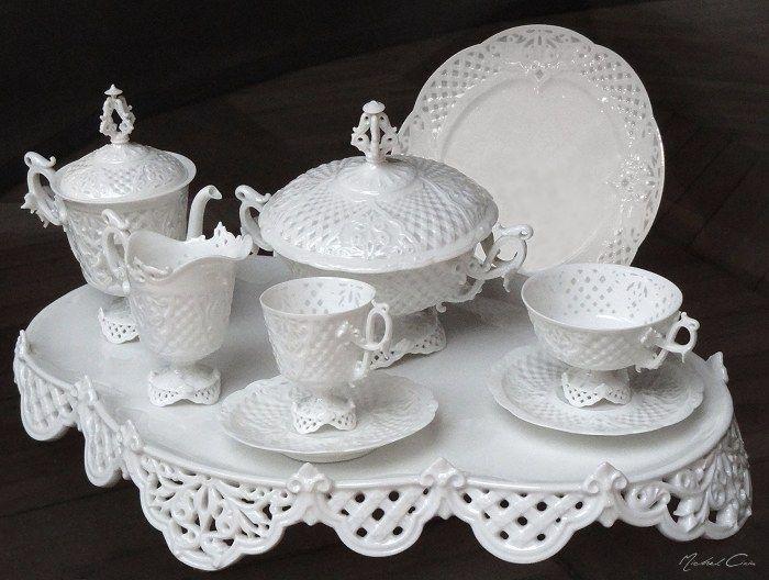 8 best PORCELAINE BLANCHE images on Pinterest White porcelain - poignee de porte porcelaine ancienne