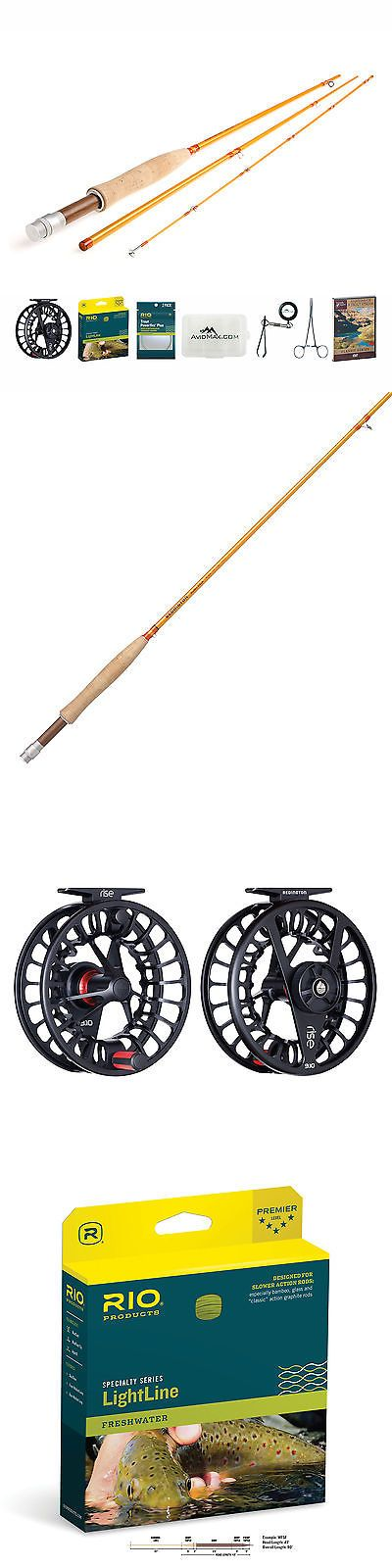 Fly Fishing Combos 33973: Redington Butter Stick Fly Rod And Rise Iii Reel Outfit With Rio Lightline -> BUY IT NOW ONLY: $479.95 on eBay!