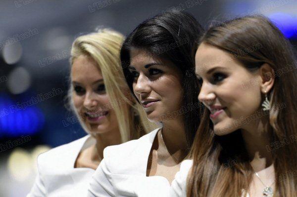 14 best les hotesses du salon mondial de l 39 auto paris