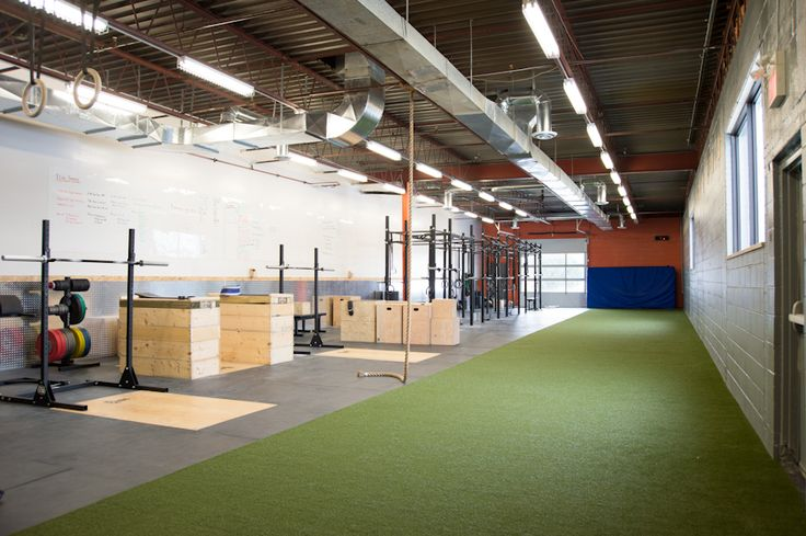 West london crossfit redesign commercial modern