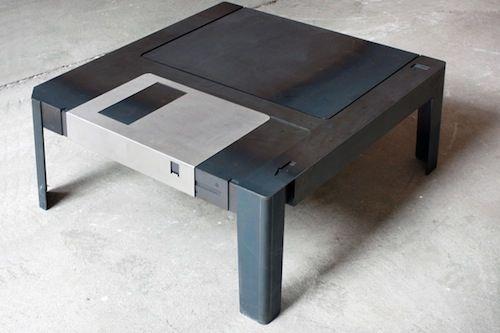 floppy disk table
