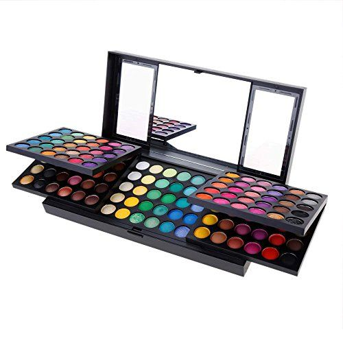 ACEVIVI 180 Colors Eyeshadow Makeup Palette Cosmetic Contouring Kit Natural Eye Shadow Pallet - Ideal for Professional and Daily Use