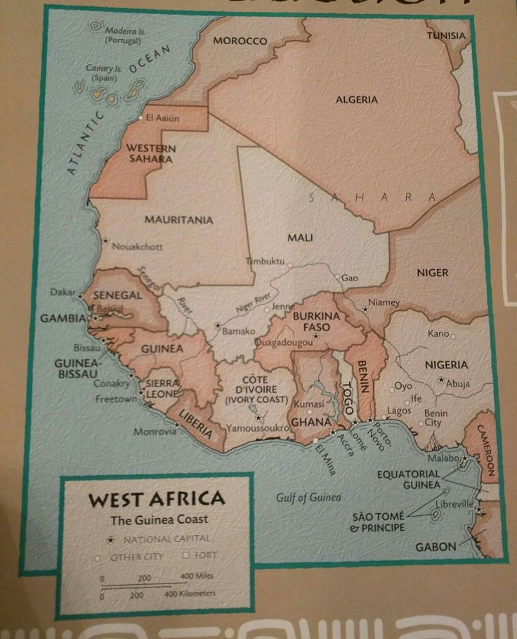 African Kingdoms of the Past Guinea Coast