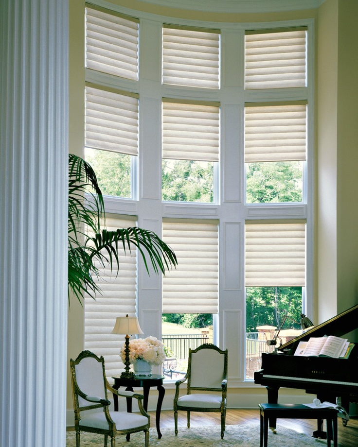 17 best images about great room windows on pinterest for Blinds for tall windows