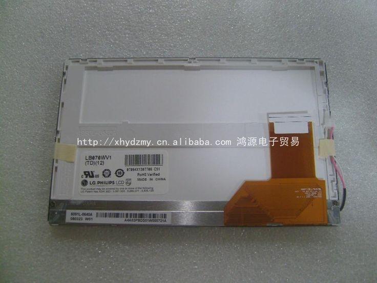 Оригинальный 7 дюймов LB070WV1 (ТД) (12 дисплей DVD Цифровая Фоторамка ЖК-экран)
