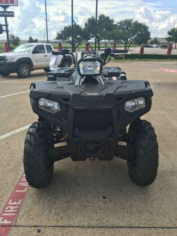 New 2017 Polaris Sportsman 570 SP Stealth Black ATVs For Sale in Texas. 2017 Polaris Sportsman 570 SP Stealth Black, 2017 Sportman 570 SP! Has a all new slick Stealth black look this year! ALL wheel drive and fun to take threw the trails! - Premium SP Performance Package Powerful 44 horsepower ProStar engine High-performance close-ratio on-demand All-Wheel Drive (AWD) Arlington Motorsports is a located on major freeway HWY 360 between Dallas and Fort Worth Texas in the middle of the…