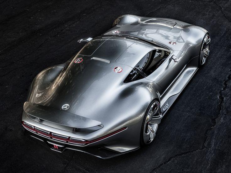 MERCEDES-BENZ AMG VISION GRAN TURISMO CONCEPT MARCH 26, 2014 LEAVE A COMMENT Mercedes-Benz je pripremio koncept vozilo za PlayStation® 3 Gran Turismo 6.  Mercedes-Benz AMG Vision Gran Turismo privlači pažnju LED grilom (oblikovan po uzoru na trkački 300 SL iz 1952. godine), gullwing vratima, izuzetnim petokrakim točkovima, AMG sportskim izduvnim sistemom sa osam izdu