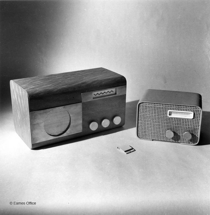 Well, not really chair models, these are RADIO models by Charles and Ray Eames.