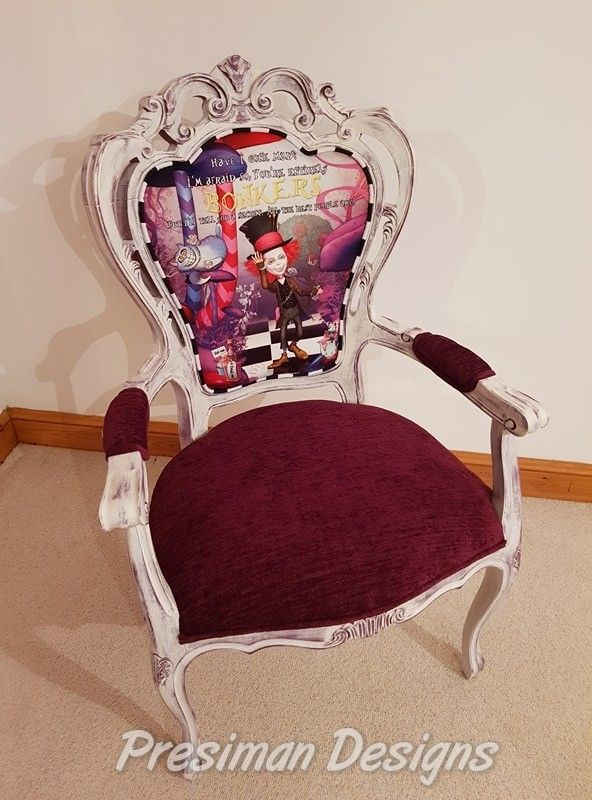 The Presiman Designs  Mad Hatter Chair
