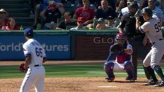MLB Aaron Judge 2 Home Run game 40 & 41 of the season  NY Yankees vs Texas Rangers