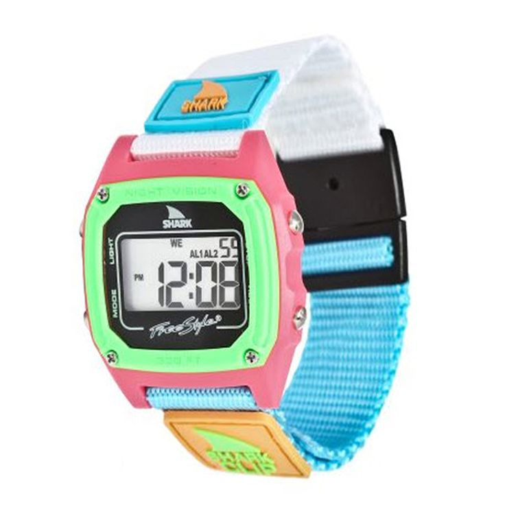 Freestyle Shark Clip Multicolor Nylon Women's Digital Watch FS84861 Thumbnail 2