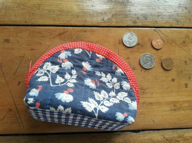 Quilt coin bag