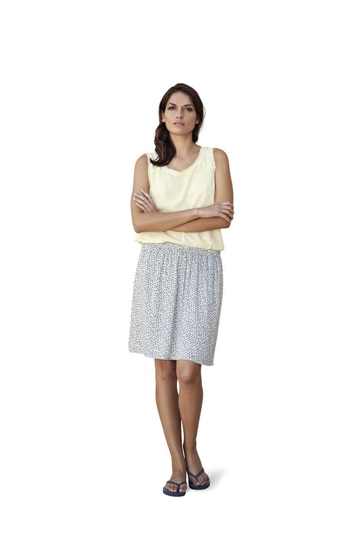 soyaconcept - top - blouse - skirt - dots