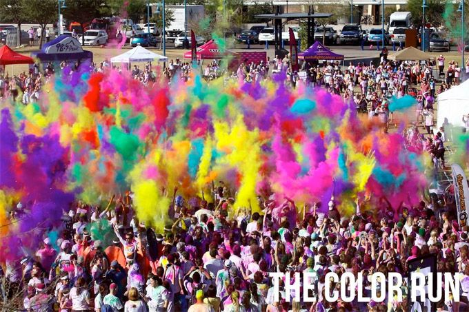 Checking the color run of my bucket list this summer!