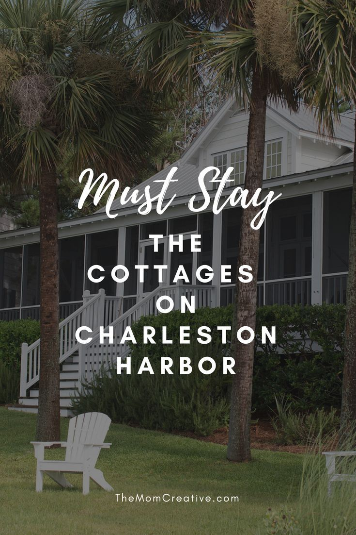 The Cottages On Charleston Harbor A Great Place For Families Family Vacations Usa Charleston Vacation Vacation Goals